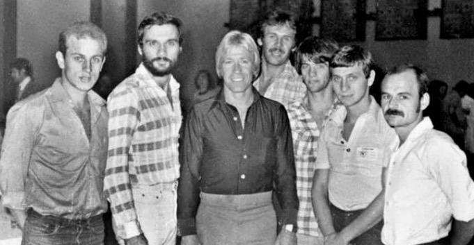 Yu nacionalni tim i Chuck Norris 1978