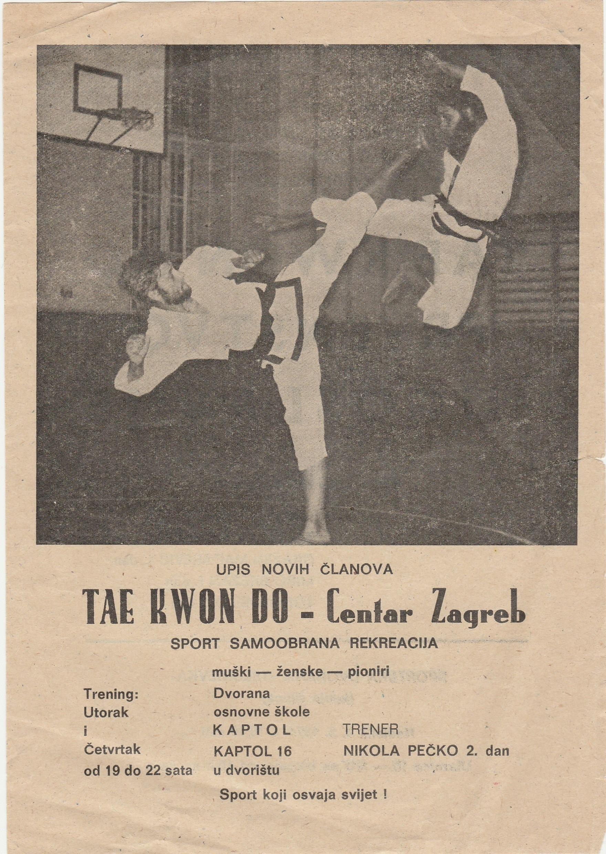 taekwondo Centar – plakat